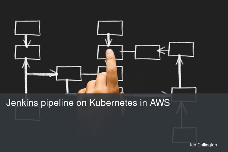 Jenkins pipeline on Kubernetes in AWS